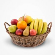 Fruktkorg Bas Silver